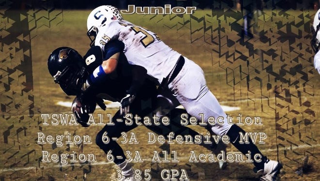Triston Hampton was selected a TSWA All-State player.