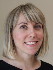 Sarah Trone Garriott lives in Windsor Heights