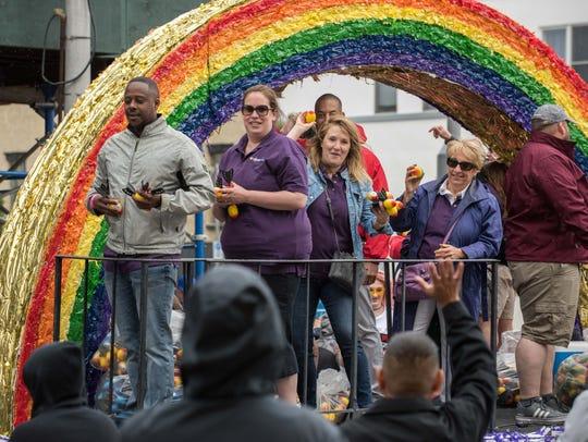 6/03/18 Jersey Pride Parade proceeds along Cookman