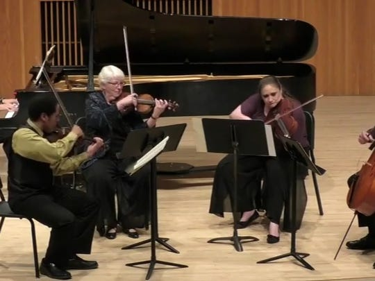 Aber Suzuki Center musicians perform at the 2015 Music of the Masters event.
