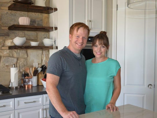 Eric and Lindsey Bennett have been flipping homes for