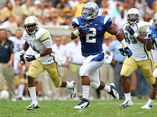 The Georgia Tech game, in which Benny Cunningham rushed for more than 200 yards and five touchdowns, gained him national attention.
