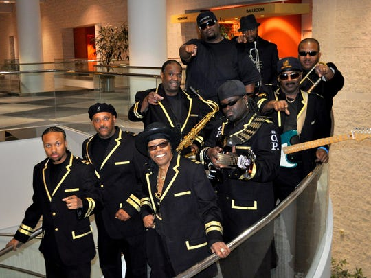 The Ohio Players headline a free show at Washington Park as part of the Center for Closing the Health Gap's annual Health Expo on Saturday.