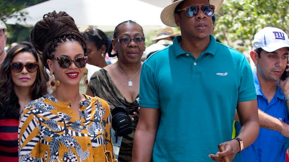 Beyonce and Jay Z in Cuba