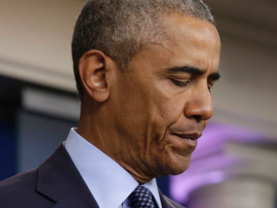 President Obama makes a statement on the mass shooting