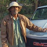 Willie Ray Young's truckbed is often filled with 'junk' he plans to fix and give back to others.