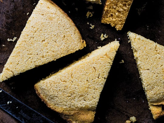 "Real Cornbread from ""Victuals"" does not have any sugar."