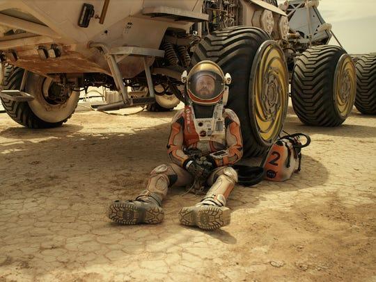 Matt Damon's astronaut Mark Watney faces seemingly