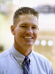 Matt Herting, varsity boys basketball coach at Bishop