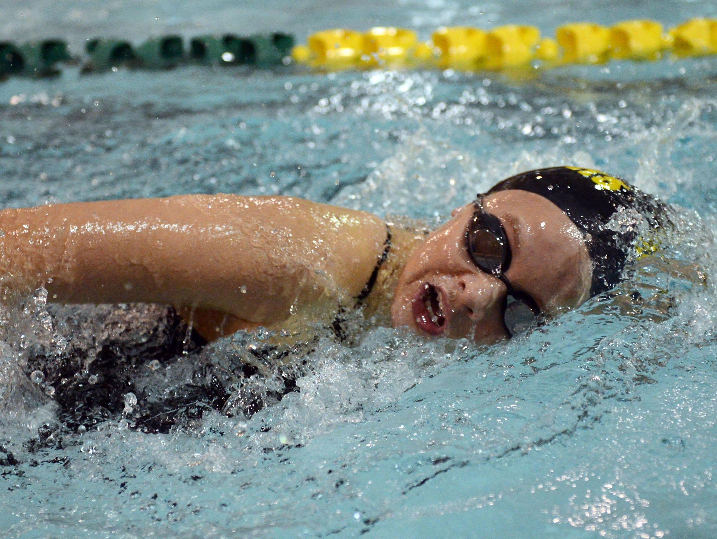Hannah Van Dalen was a leg on Ashwaubenon's 200-yard freestyle team, which earned first-team all-FRCC honors.