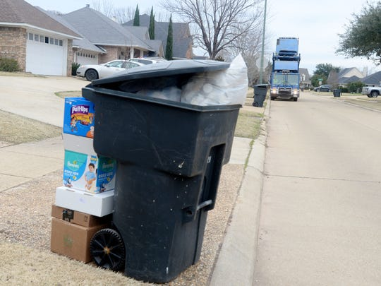 """""""The people who are pick up the garbage are doing a"""