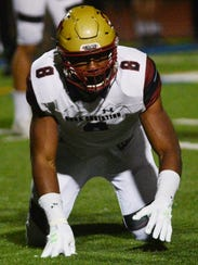 Oaks Christian's Kayvon Thibodeaux was named the Division 2 co-Defensive Player of the Year.