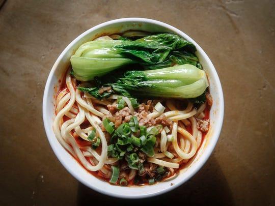 Dan Dan Noodles at Heavenly Asian Cuisine in West Des