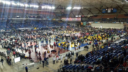 The Tacoma Dome is the site of Mat Classic XXX.