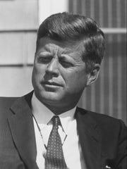 John F. Kennedy when he was president.