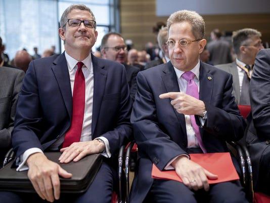 Germany Spy Chiefs