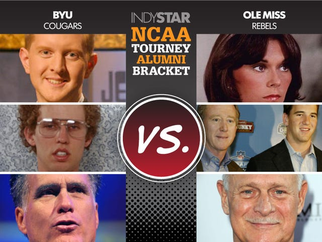 Who has the best alumni? Our special NCAA tournament bracket