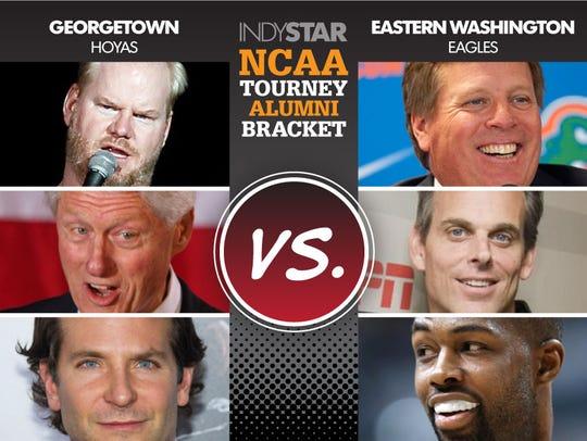 Georgetown vs. Eastern Washington