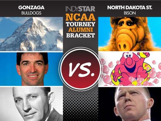 Gonzaga vs. North Dakota St.