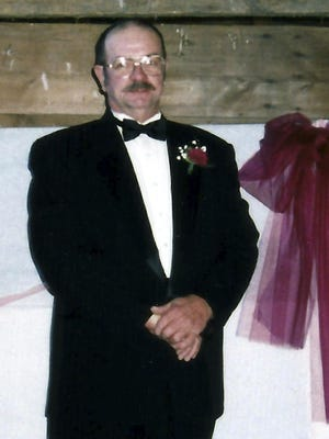 This 1999 photo provided by Kathy Nicholson shows her husband James Nicholson of Brattleboro at a wedding in Hinsdale, N.H. He was beaten and died six weeks later while serving a sentence for sexual assault at the Lee Adjustment Center, a private prison in Beattyville, Ky.