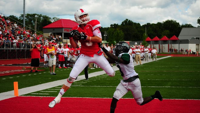 Kyle Bryson and the Olivet College football team will host Adrian College on Saturday.
