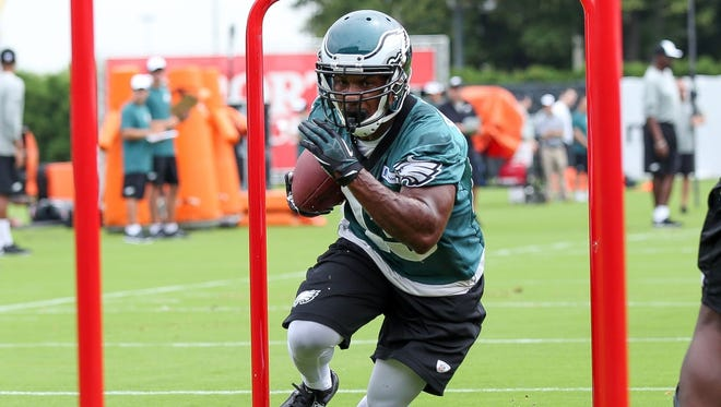 Darren Sproles is listed as a running back, but he has 27 career touchdown receptions in his eight-year career.
