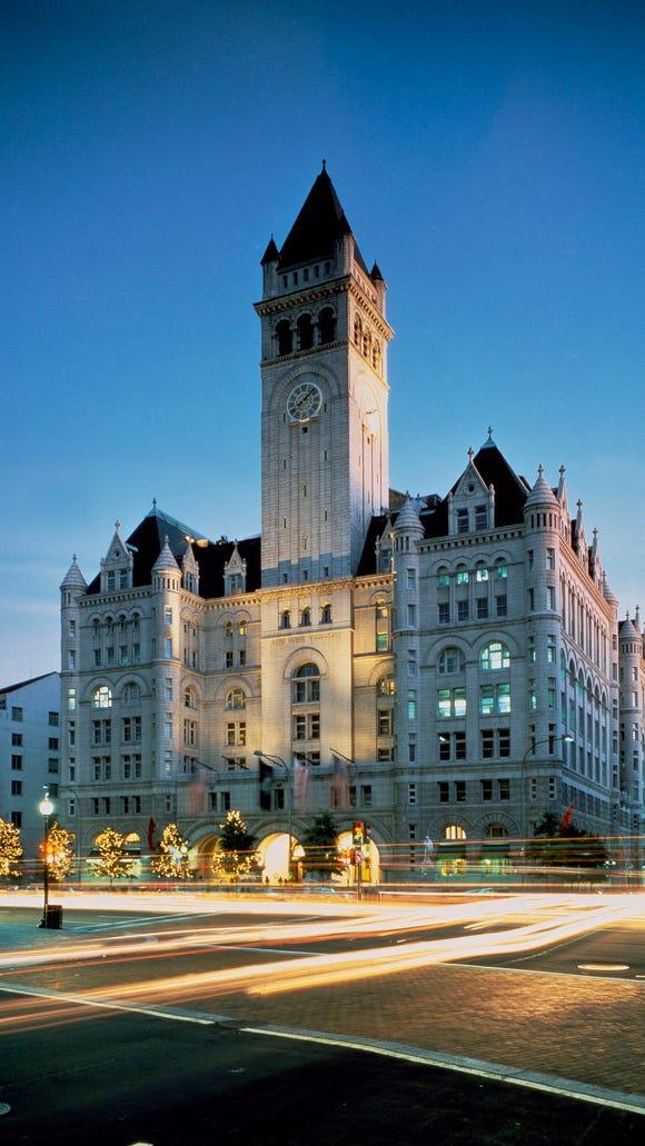 The new Trump International Hotel Washington, D.C.,