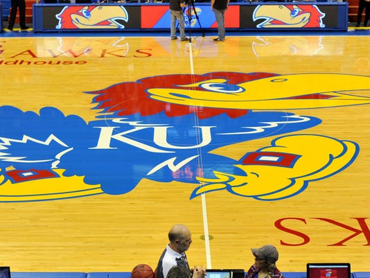 NCAA Basketball: Oakland at Kansas