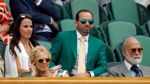 Did Sergio Garcia name his new daughter after a hole at The Masters?