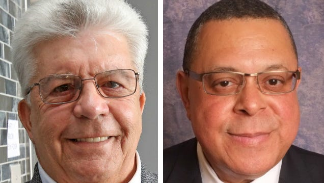 Richard Falanka and Greg Adams are vying for the position of Port Chester Mayor
