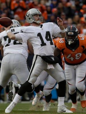 After three seasons with the Raiders, Matt McGloin has joined the Philadelphia Eagles as a backup quarterback.