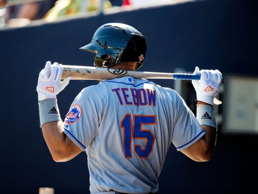 Strange Tim Tebow Fitting In Well With New Baseball Teammates Hairstyles For Men Maxibearus