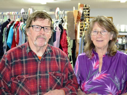 Dan and Janet Clark are the volunteer coordinators of the Compassionate Ministries Clothing Room in Clyde which provides free clothing for locals and people across the state and beyond.