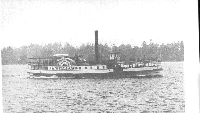 Steamboat A. Williams was built in Burlington in 1870. She was named for Andrew Williams of Plattsburgh, N.Y., who operated her in partnership with Warren Corbin of South Hero