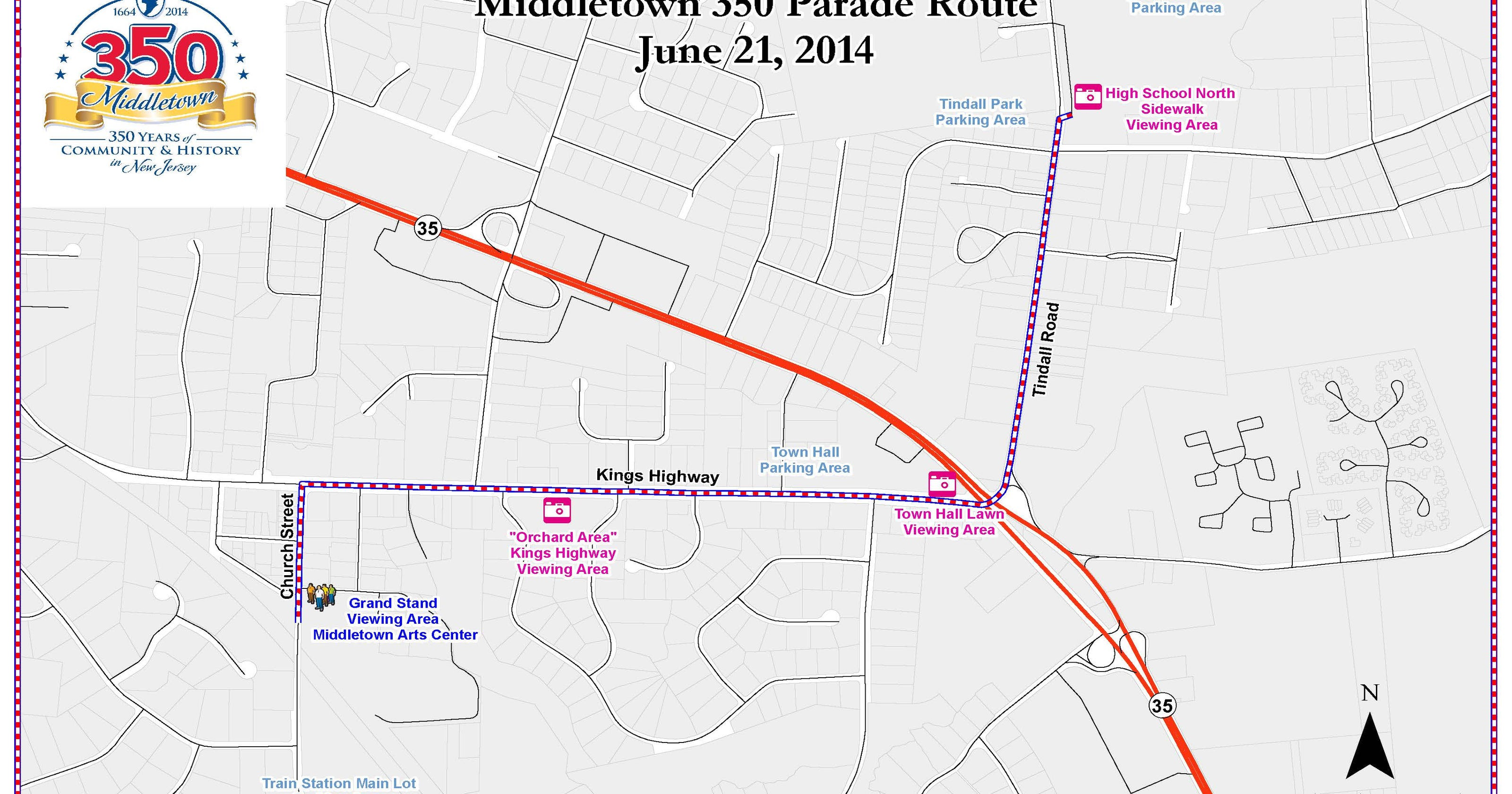 Middletown 350th anniversary parade on zip code map, new jersey shore map, lincroft new jersey map, fort dix range map,