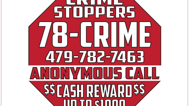 Anyone with information about these incidents is asked to call the Police Department at (479) 709-5100 or Crime Stoppers at 78-CRIME, where an anonymous tip could earn a caller up to $1,000.
