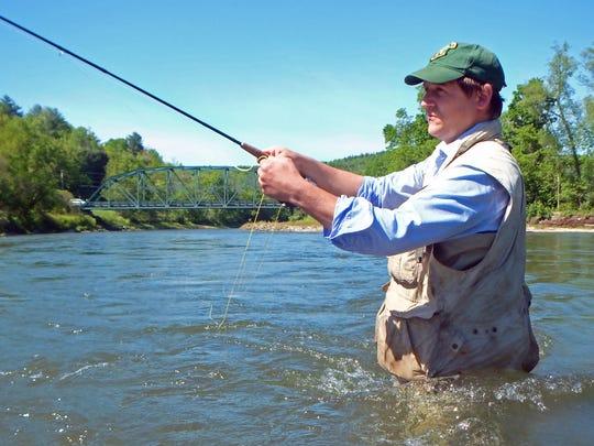 Vermont Fish and Wildlife Commissioner Louis Porter