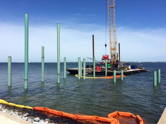 Pensacola Bay Bridge Replacement Construction