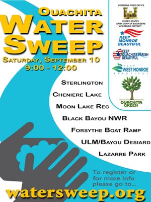 Ouachita Water Sweep is Sept. 10.
