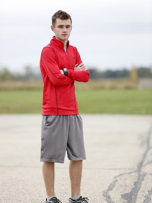 Waupun senior Bailey Bille has been the No. 1 runner for the Warriors' cross-country team.