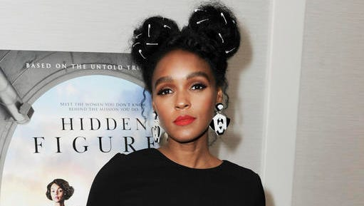 "FILE - This Jan. 4, 2017 file photo shows Janelle Monae at a special screening of ""Hidden Figures"" in West Hollywood, Calif. Monae, Maxwell and Angelique Kidjo are set to perform at the Women's March on Washington this weekend. Organizers of the event announced its performance lineup Wednesday. Mary Chapin Carpenter, the Indigo Girls, MC Lyte, Samantha Ronson, Toshi Reagon and Emily Wells are also set to perform at Saturday's march."
