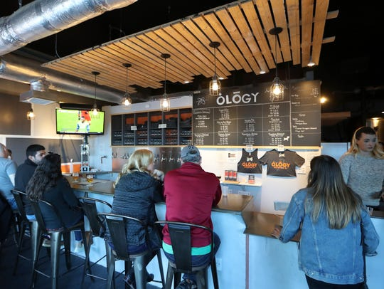 Ology Brewing Co. on 6th Avenue, a new addition to