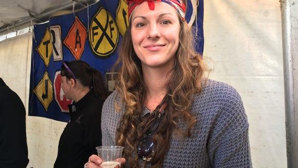 Chelsea Piner, head brewer for Traffic Jam & Snug,