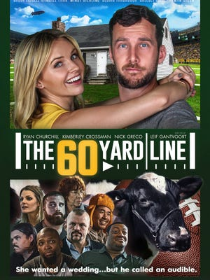 """The 60 Yard Line"" will have its Green Bay premiere Sept, 6 before opening in select theaters across the Upper Midwest on Sept. 7."