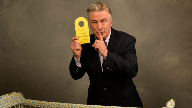 Alec Baldwin stars as a business-obsessed infant in 'The Boss Baby.'
