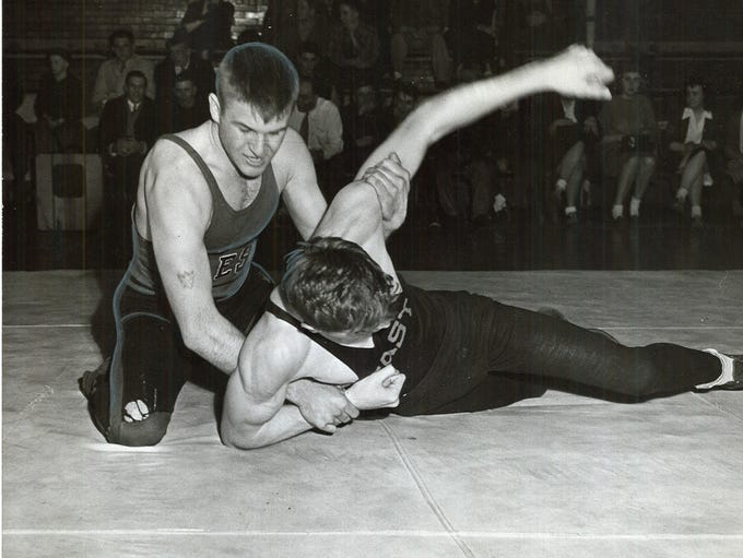 1946: Lowell Lange, West Waterloo High's 145-pound