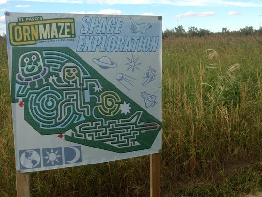 Owners of the El Paso Corn Maze are elated Nuevo Hueco Tanks Road is opening before they open in September.