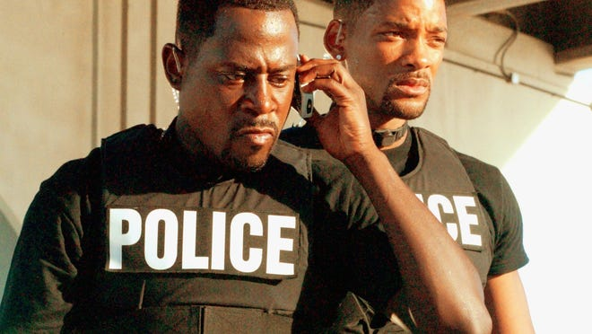 Martin Lawrence and Will Smith in a scene from the motion picture Bad Boys II. --- DATE TAKEN: rec'd 07/03  No Byline   Columbia Pictures        HO      - handout ORG XMIT: ZX113