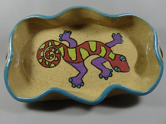 Whimsical work by Cindy Waddell will be featured in the Potters' Guild of Las Cruces 35th annual Holiday Sale on Friday and Saturday at Las Cruces Homebuilders Event Hall, 2825 N. Main.