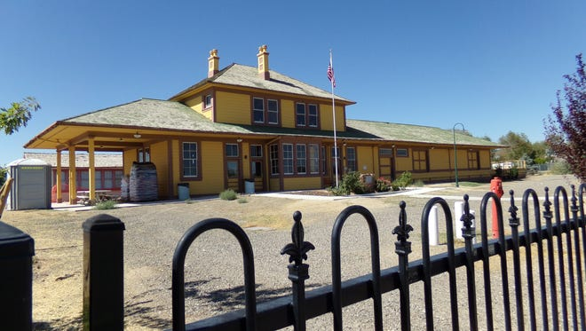 The historic Fernley Depot will get a new coat of paint.